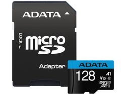 ADATA Premier microSDXC Class 10 UHS-I A1 V10 Card with Adapter 128GB