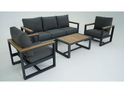 Adler Outdoor 4 Piece Lounge Setting