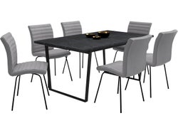 Amble 7 Piece Rectangle Dining Suite