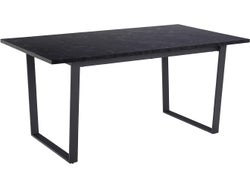 Amble Rectangle Dining Table 1600 - Black