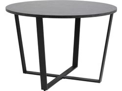 Amble Round Dining Table - Black