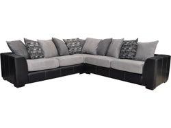 Arizona Fabric 5 Seater Corner Lounge Suite