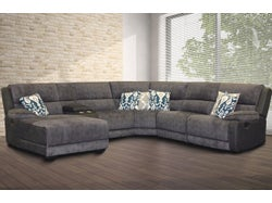 Bedford Fabric Left Chaise Lounge Suite