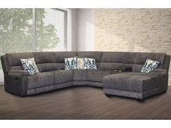 Bedford Fabric Right Chaise Lounge Suite