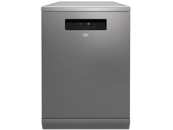 Beko 16 Place Setting Stainless Steel Freestanding Dishwasher - BDF1630X