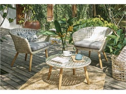 Bitola Outdoor 3 Piece Chat Set