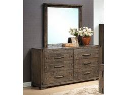 Charlie 6 Drawer Dresser with Mirror