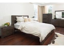 Charlie King 5 Piece Slat Bed Bedroom Suite