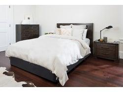 Charlie Queen 4 Piece Headboard Bedroom Suite