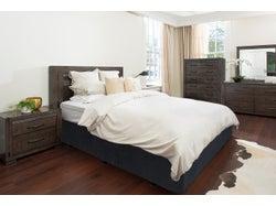Charlie Queen 5 Piece Headboard Bedroom Suite