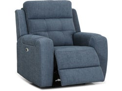 Chelsea Powered Recliner Chair - Spencer Blue