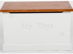 Classic Toy Box - Ivory