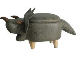 Dinosaur Footstool with Storage