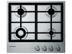 Fisher & Paykel 60cm Gas on Steel Cooktop - CG604DX1