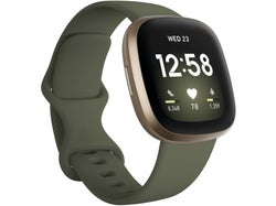Fitbit Fitbit Versa 3 Health and Fitness Watch + GPS - Olive / Soft Gold Aluminum