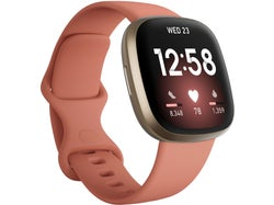 Fitbit Versa 3 Health and Fitness Watch + GPS - Pink Clay / Soft Gold Aluminium