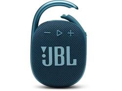 JBL Clip 4 Waterproof Bluetooth Speaker- Blue