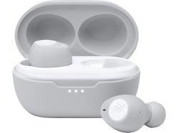 JBL T115 Truly Wireless In-Ear Headphones - White