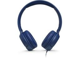 JBL Tune 500 Wired On-ear Headphones - Blue