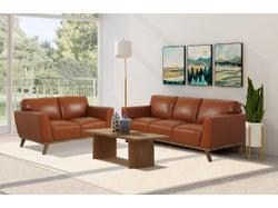 Keilani 5 Seater Lounge Suite - Tan