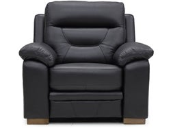 Kingston Leather Electric Recliner - Eclipse
