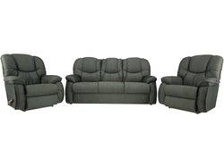 La-Z-Boy Dreammode Fabric 5 Seater Lounge Suite - Persistent Jet