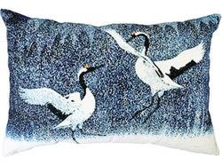 Limon Cranes Cushion