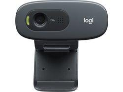 Logitech C270 HD Webcam, 720p Video with Built-in Mic