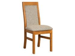 Marsden Upholstered Dining Chair - Old Rimu - Jake Pepper