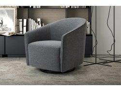Marseille Tub Chair - Charcoal