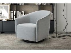 Marseille Tub Chair - Silver