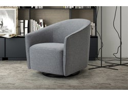 Marseille Tub Chair - Steel