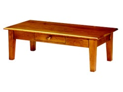 Mill-Yard Coffee Table With Drawer - Aged Pine