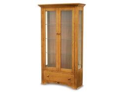 Mill-Yard Display Cabinet - Aged Pine