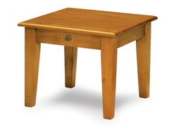 Mill-Yard Lamp Table - Aged Pine