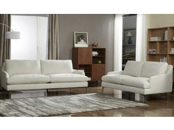 Modena Fabric 5 Seater Lounge Suite - Oatmeal