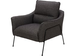 Munich Fabric Chair - Midnight
