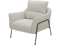 Munich Fabric Chair - Oatmeal