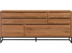 Nevada 4 Drawer Sideboard with 2 Doors
