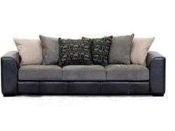Nevada Fabric 4 Seater Sofa