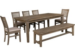 Normandy 7 Piece Dining Suite