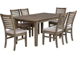 Normandy 7 Piece Dining Suite with Extension Table