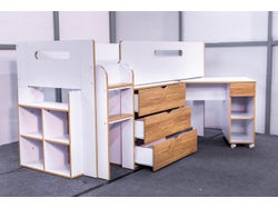Oakey Dokey Cabin Bed with Desk and Drawers