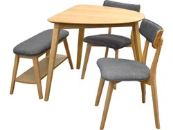 Oslo 4 Piece Offset Dining Suite