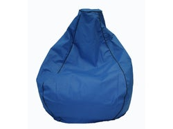 Outdoor Premium Canvas Bean Bag - Blue