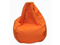 Outdoor Premium Canvas Bean Bag - Orange