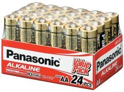 Panasonic Alkaline AA Batteries (24 pack)