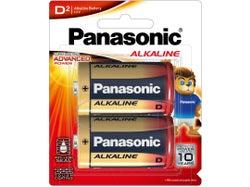 Panasonic Alkaline D Size Batteries (2 Pack)