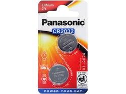 Panasonic Lithium 3V Battery CR2032 (2 Pack)