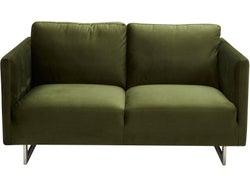 Phoenix Fabric 2 Seater Sofa - Forrest Green